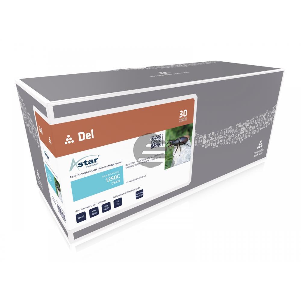 Astar Toner-Kartusche cyan HC (AS14125) ersetzt 593-11021 / YY4G6
