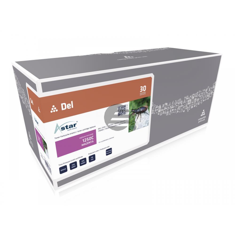 Astar Toner-Kartusche magenta HC (AS12125) ersetzt 593-11018 / 9RGVT