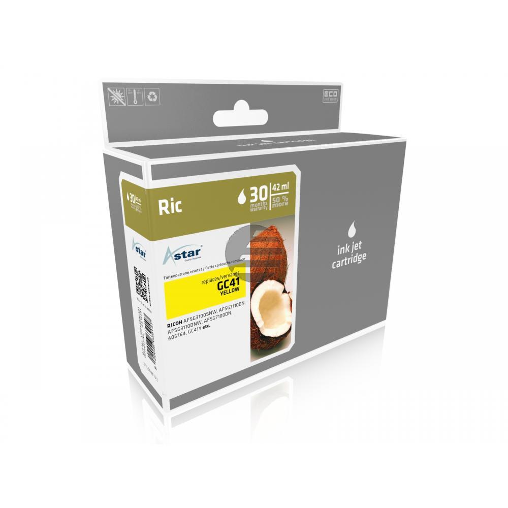 Astar Gel-Kartuschen gelb HC (AS15341) ersetzt 405764 / GC-41YH