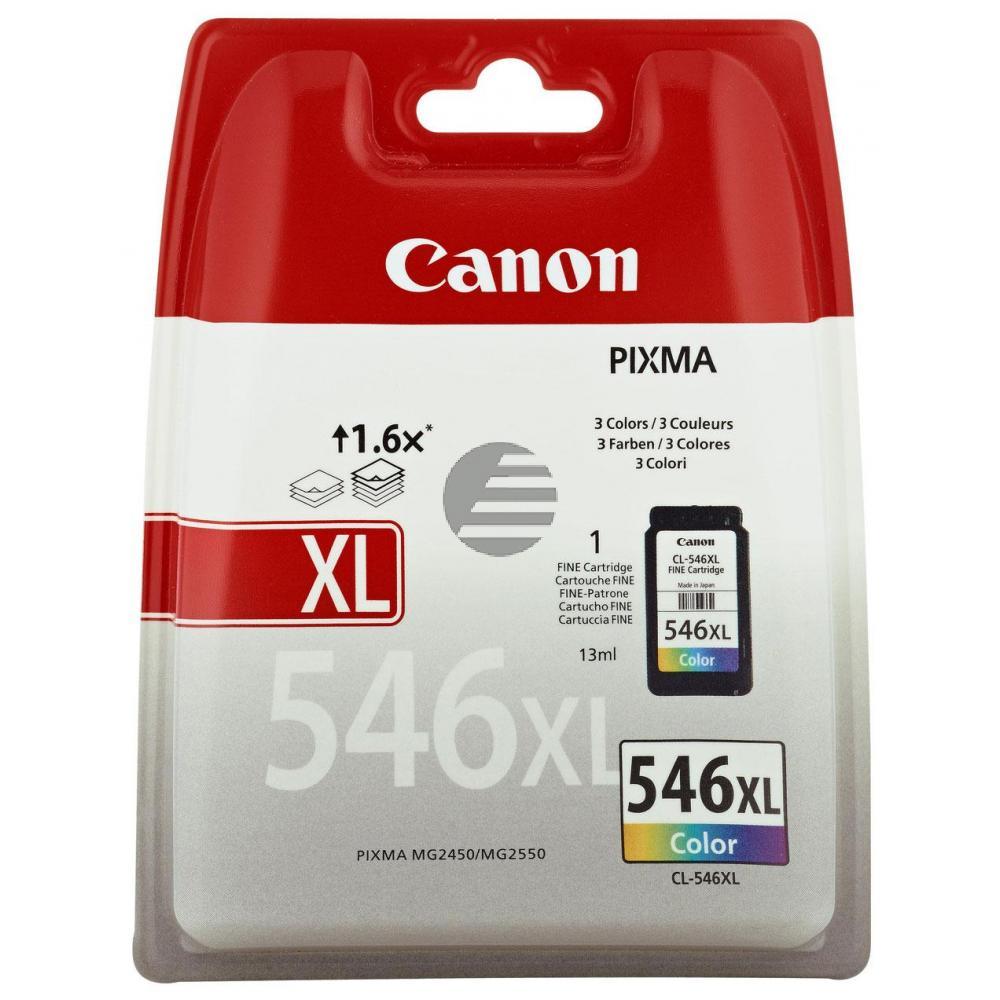 Canon Tinte Cyan/gelb/Magenta HC (8288B001, CL-546XL)