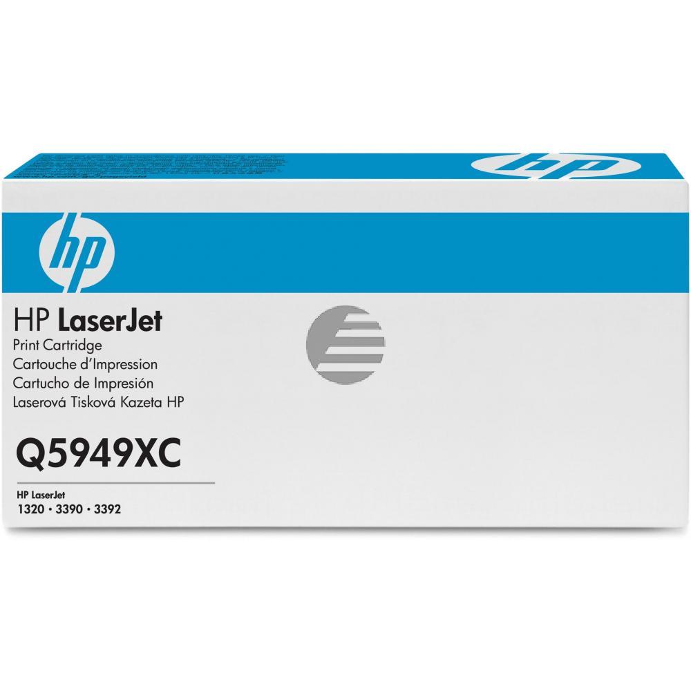 HP Toner-Kartusche Contract schwarz HC (Q5949XC, 49XC)
