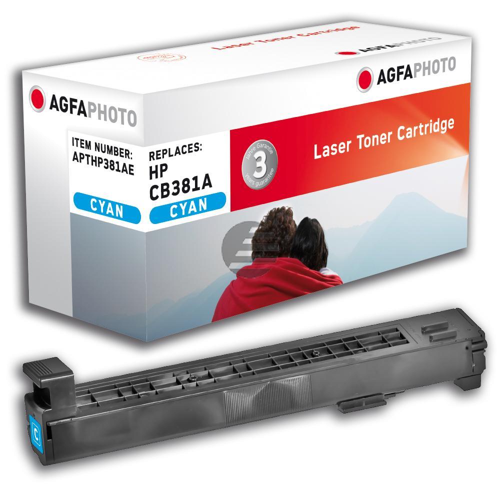 Agfaphoto Toner-Kit cyan (APTHP381AE)