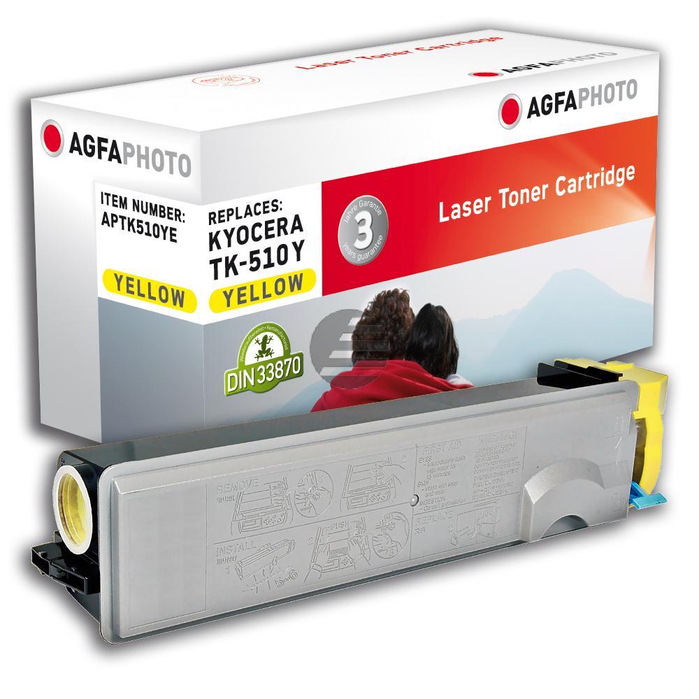 Agfaphoto Toner-Kit gelb (APTK510YE) ersetzt 1T02F3AEU0 / TK-510Y