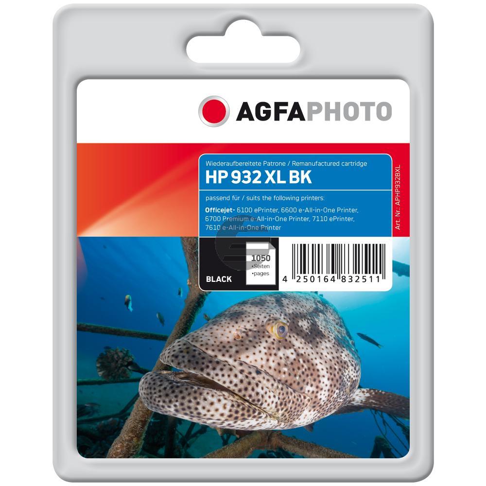 Agfaphoto Tintenpatrone schwarz HC (APHP932BXL)