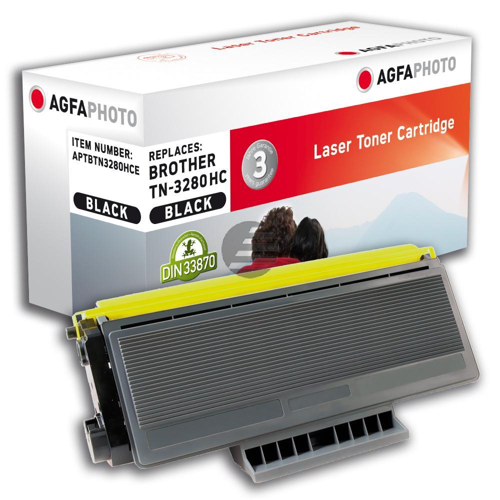 Agfaphoto Toner-Kit schwarz HC plus (APTBTN3280HCE)