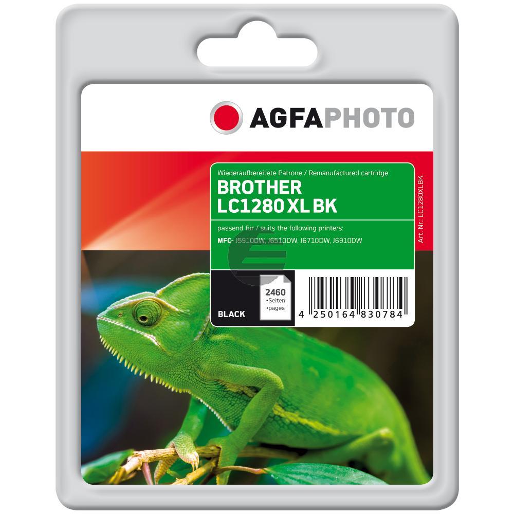 Agfaphoto Tintenpatrone schwarz (APB1280XLBD)