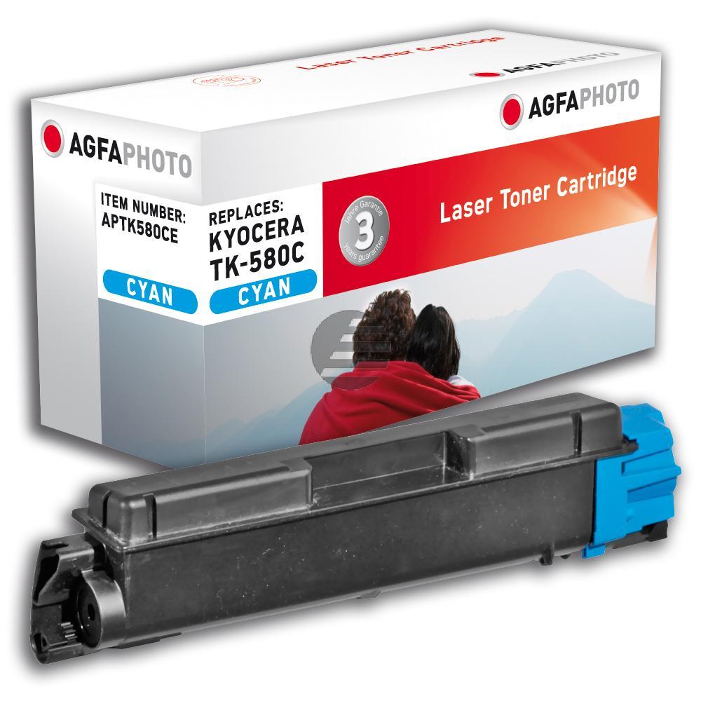 Agfaphoto Toner-Kit cyan (APTK580CE)