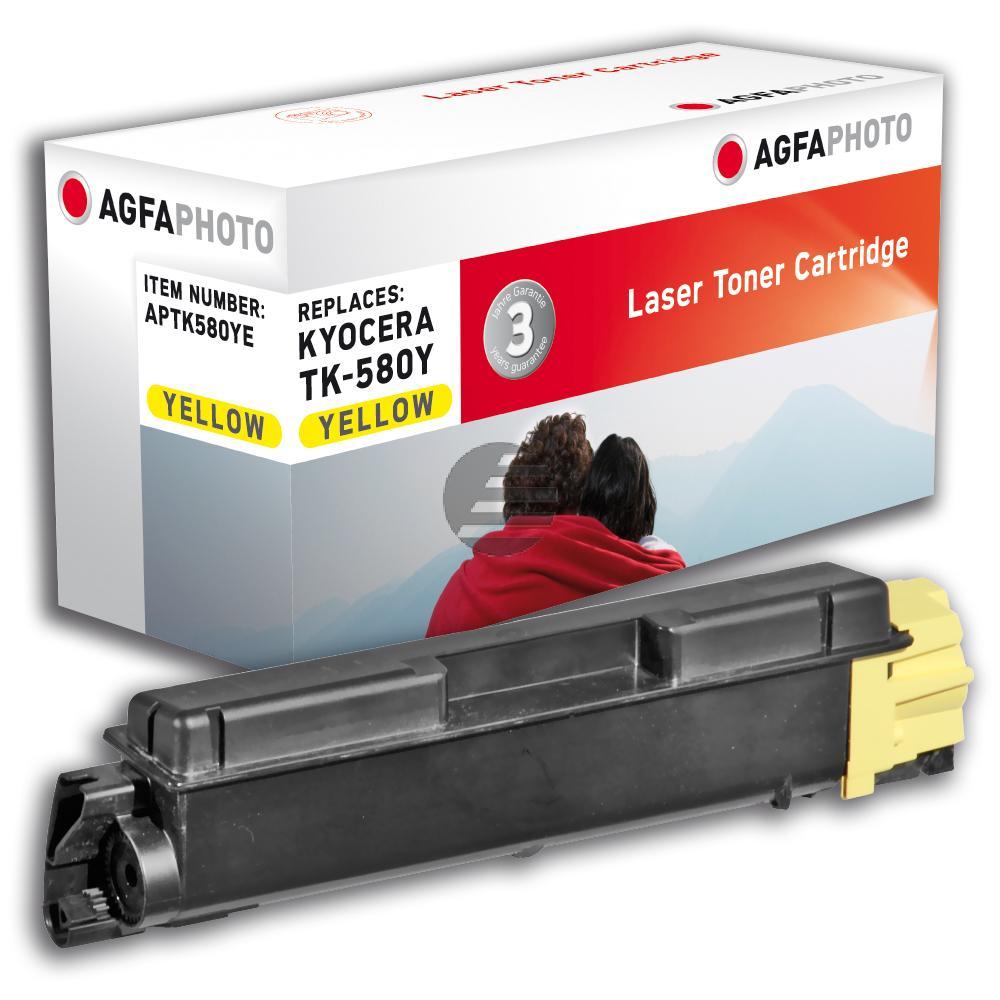 Agfaphoto Toner-Kit gelb (APTK580YE)