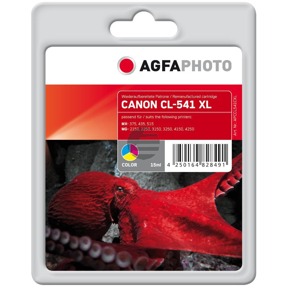 Agfaphoto Tintenpatrone cyan/gelb/magenta (APCCL541CXL)