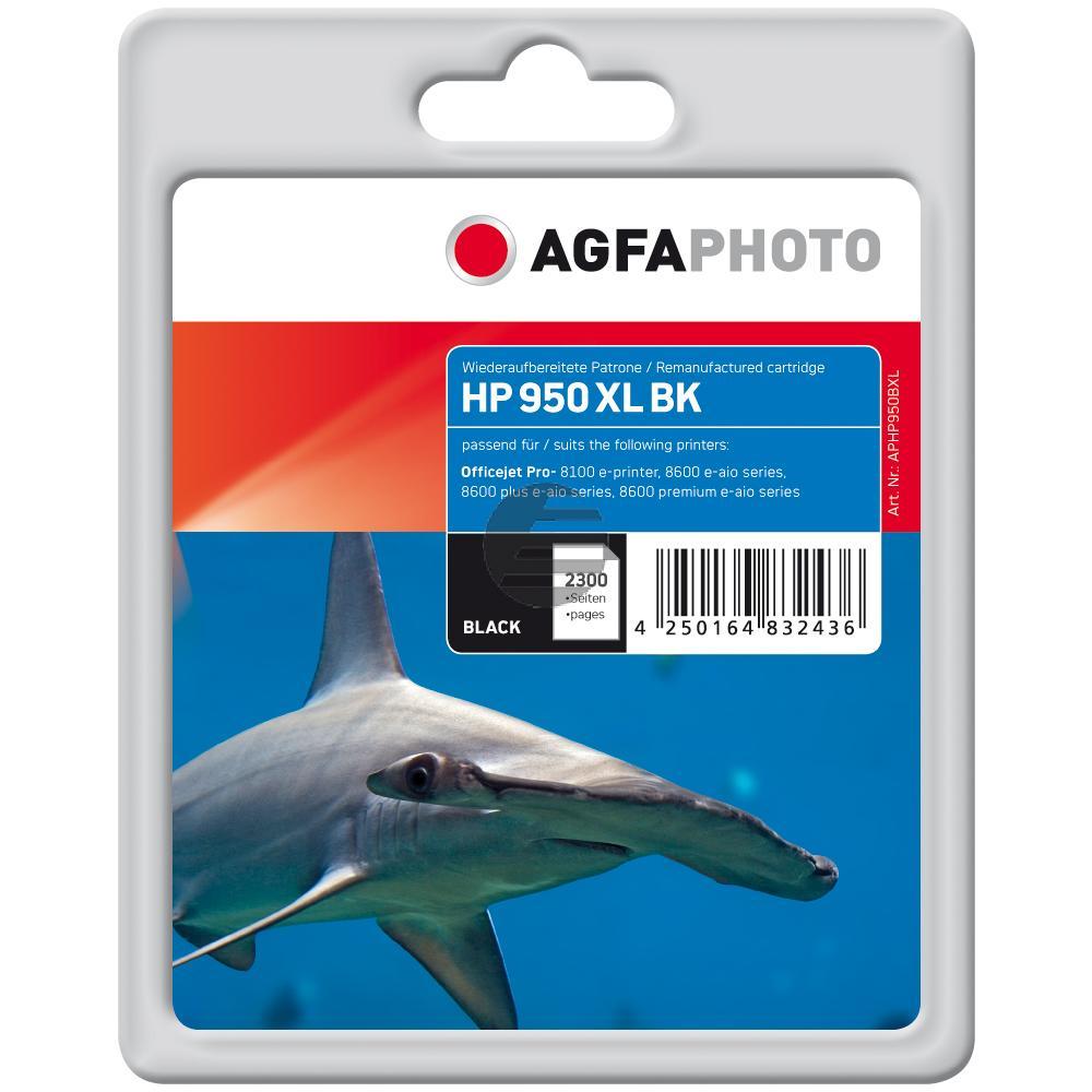 Agfaphoto Tintenpatrone schwarz HC (APHP950BXL)