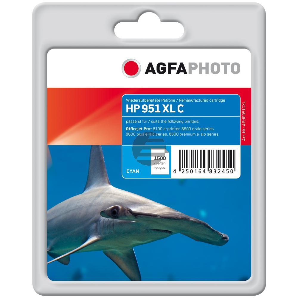 Agfaphoto Tintenpatrone cyan HC (APHP951CXL)