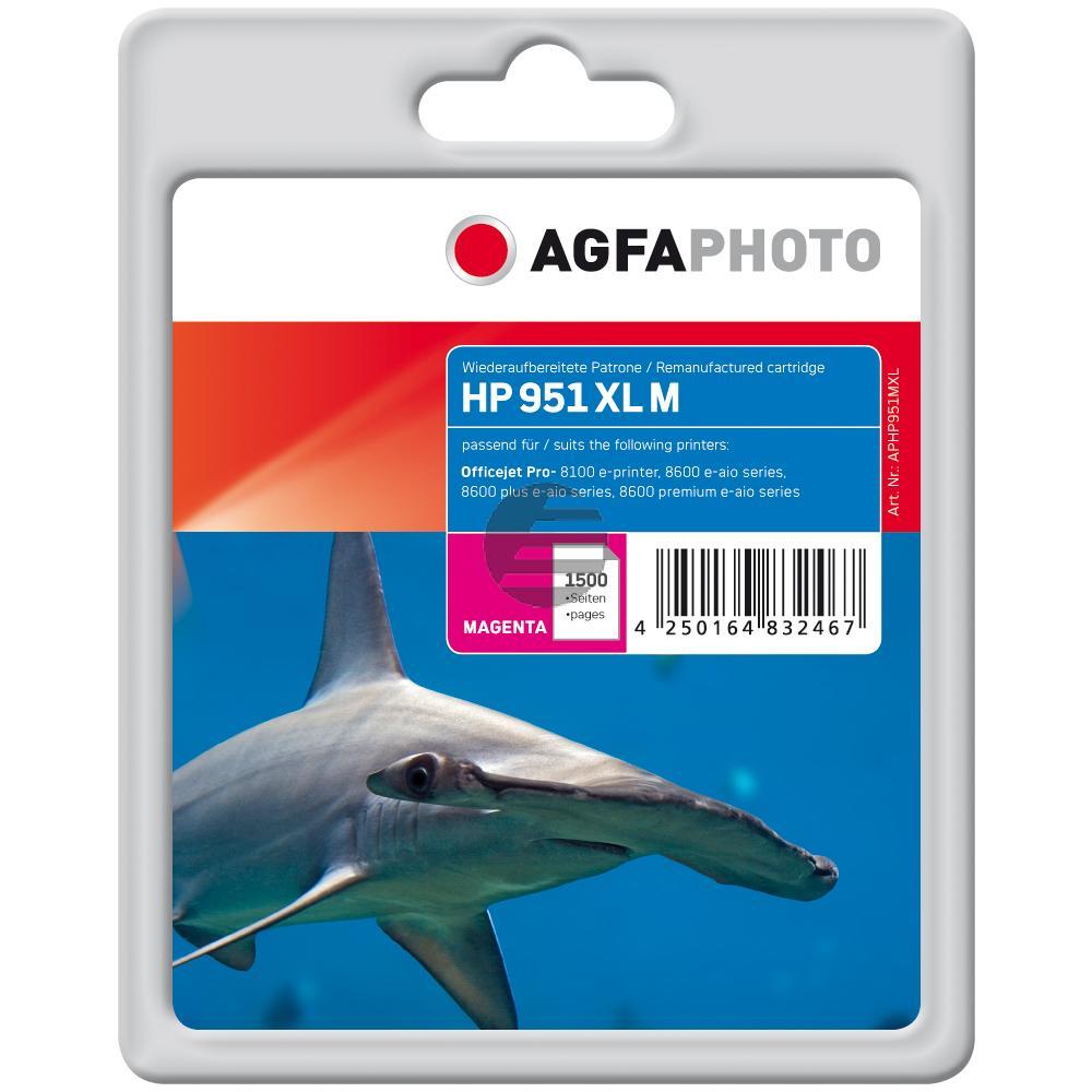 Agfaphoto Tintenpatrone magenta HC (APHP951MXL)