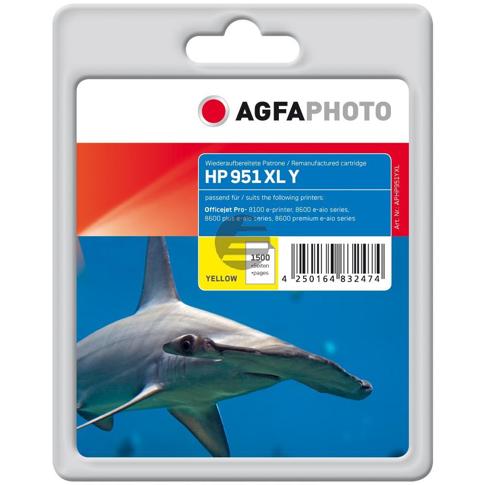 Agfaphoto Tintenpatrone gelb HC (APHP933YXL)
