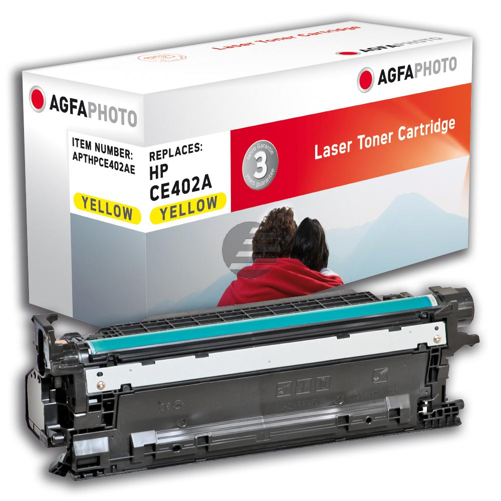 Agfaphoto Toner-Kartusche gelb (APTHPCE402AE)