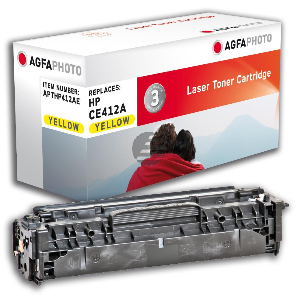 Agfaphoto Toner-Kartusche gelb (APTHP412AE)
