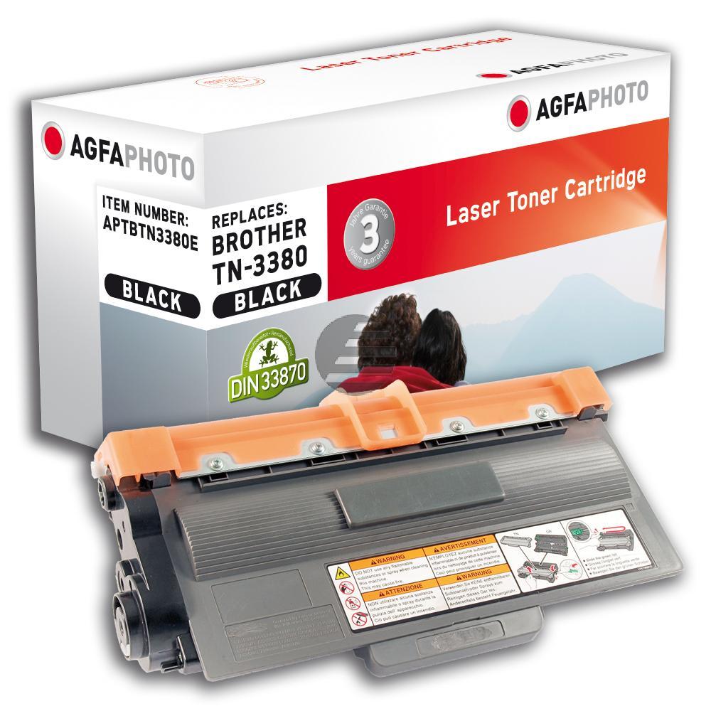 Agfaphoto Toner-Kartusche schwarz HC (APTBTN3380E) ersetzt TN-3380