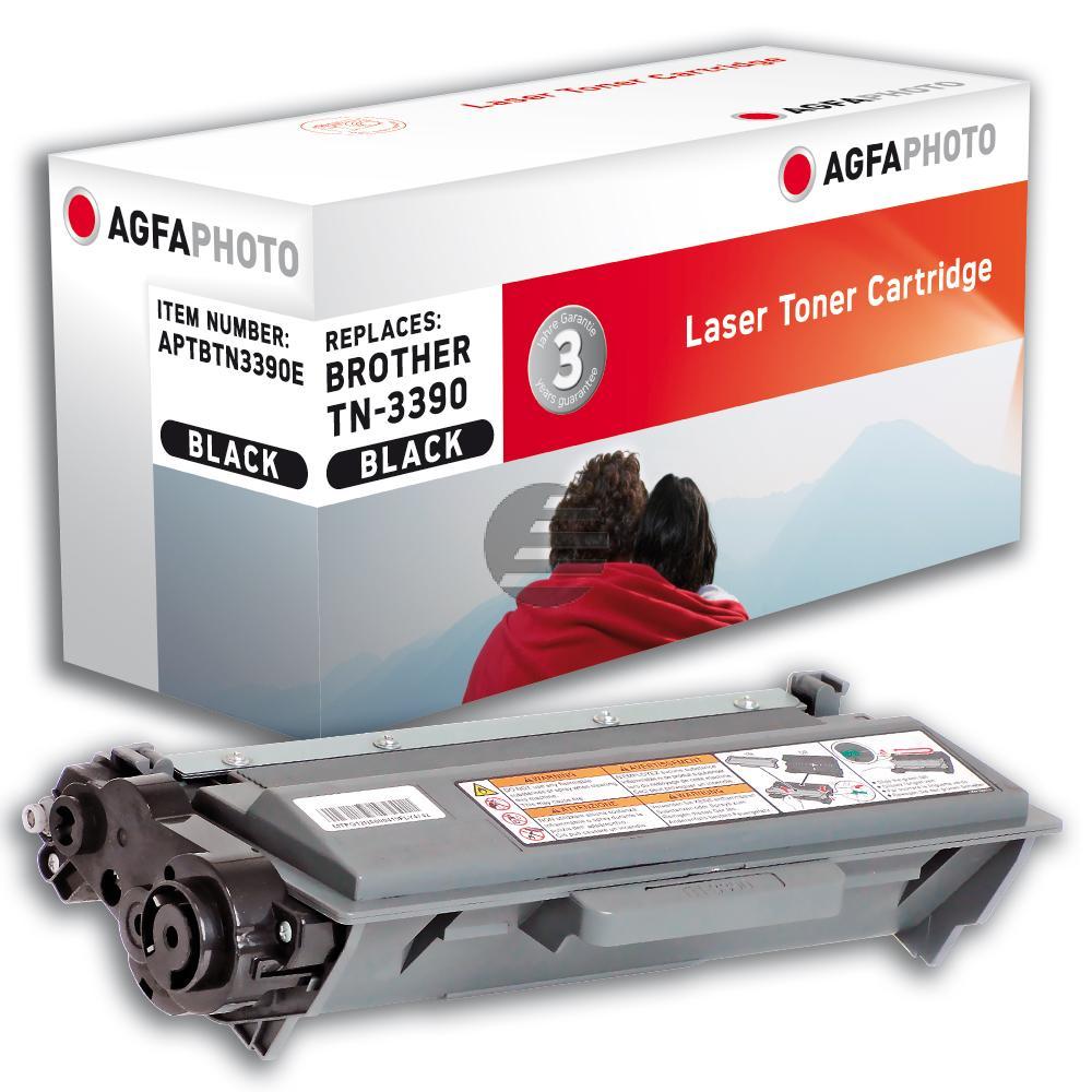 Agfaphoto Toner-Kartusche schwarz HC plus (APTBTN3390E) ersetzt TN-3390