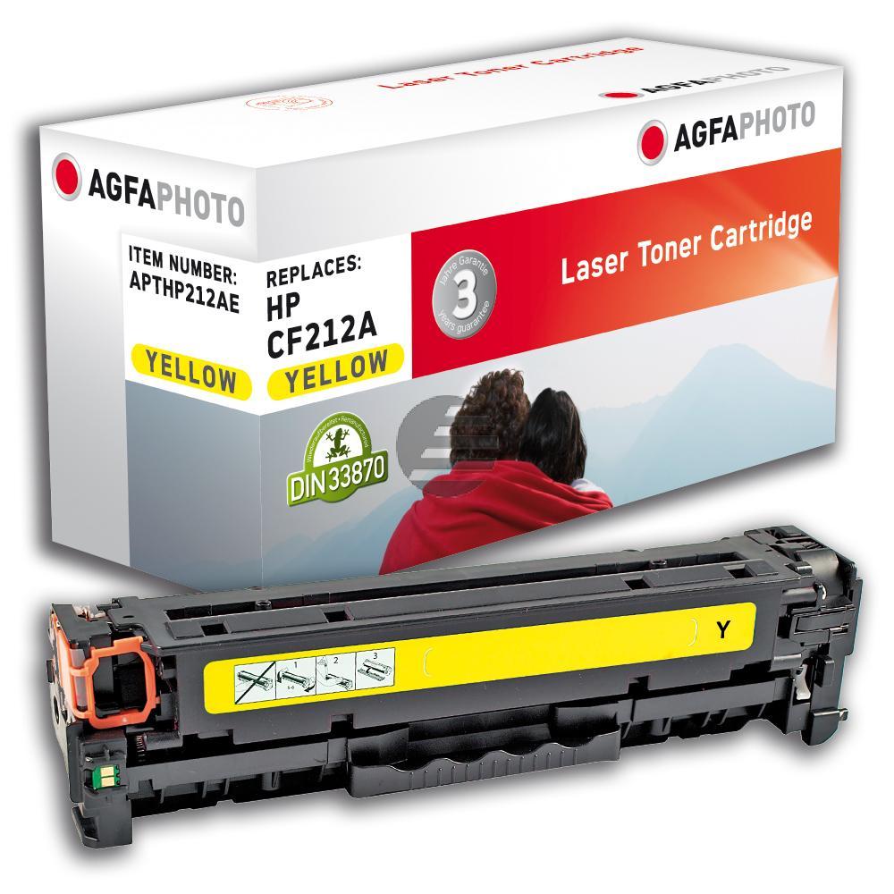 Agfaphoto Toner-Kartusche gelb (APTHP212AE)