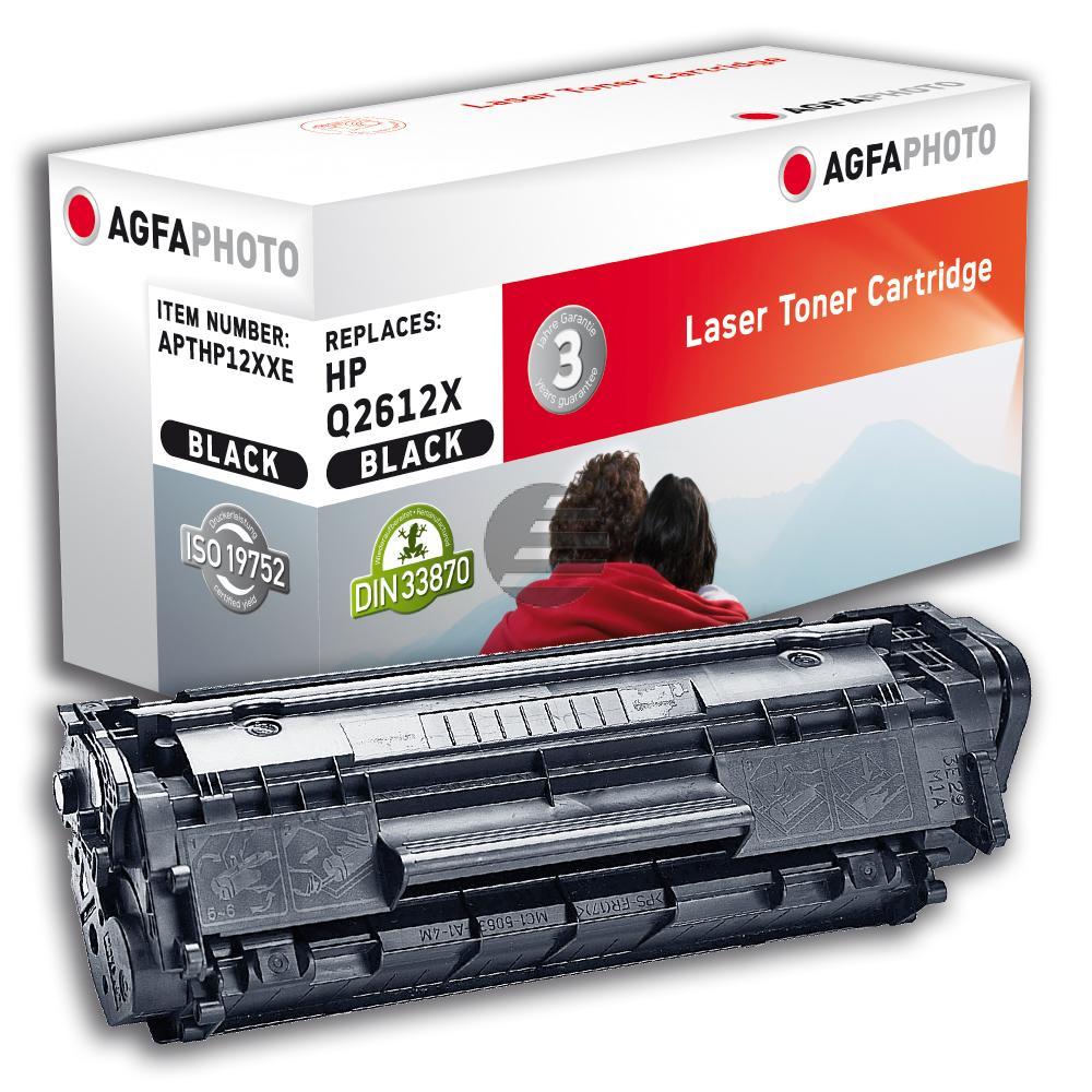 Agfaphoto Toner-Kartusche schwarz HC plus (APTHP12XXE)