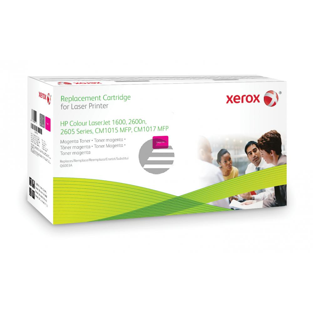 Xerox Toner-Kartusche magenta (003R99771) ersetzt Q6003A / 124A