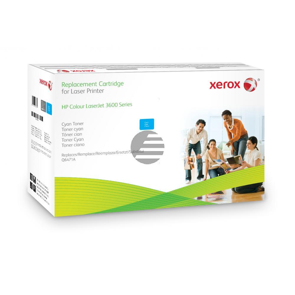 Xerox Toner-Kartusche cyan (003R99752) ersetzt Q6471A / 502A