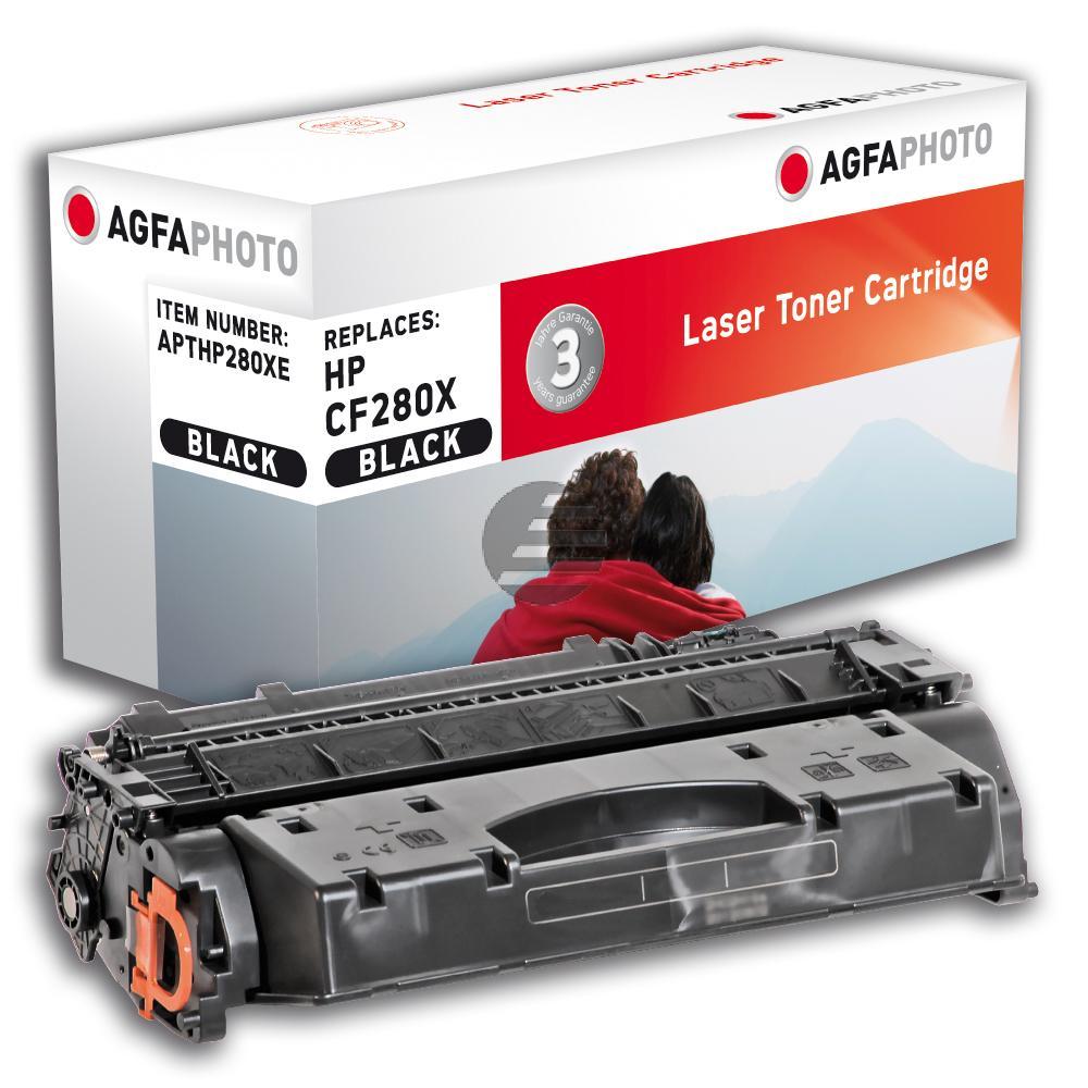 Agfaphoto Toner-Kartusche schwarz HC (APTHP280XE)