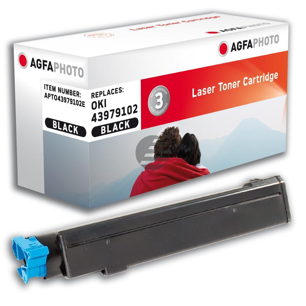 Agfaphoto Toner-Kit schwarz (APTO43979102E) ersetzt 43979102
