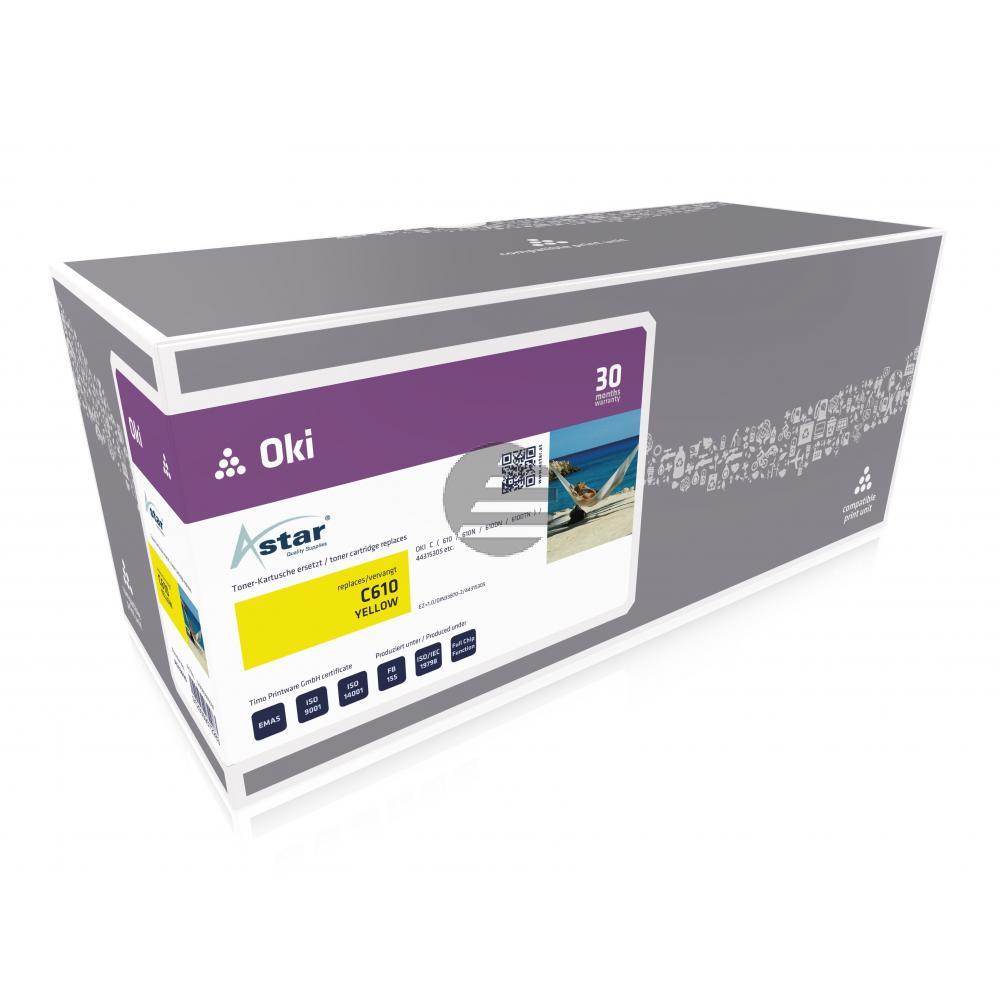 Astar Toner-Kit gelb (AS13610)