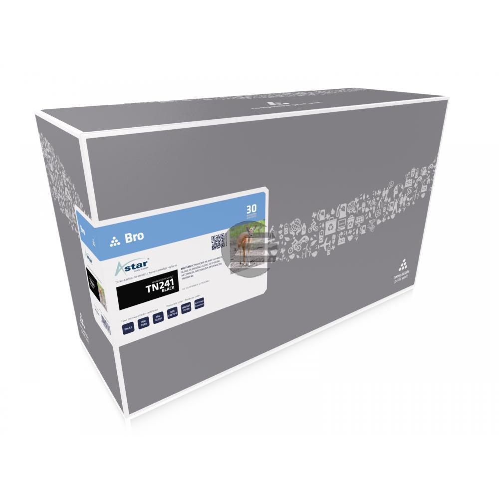 Astar Toner-Kit schwarz (AS11314) ersetzt TN-241BK