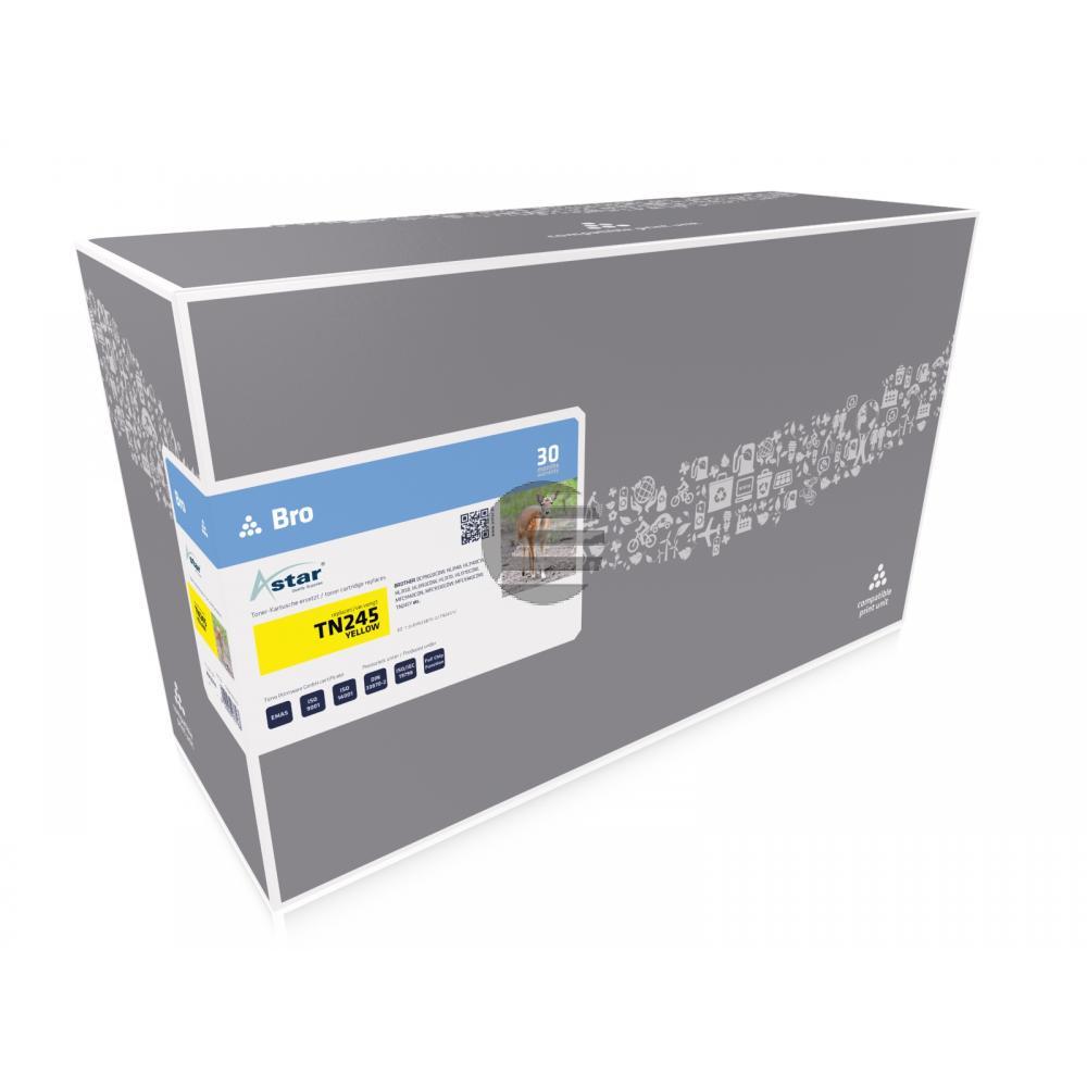 Astar Toner-Kit gelb HC (AS13314) ersetzt TN-245Y