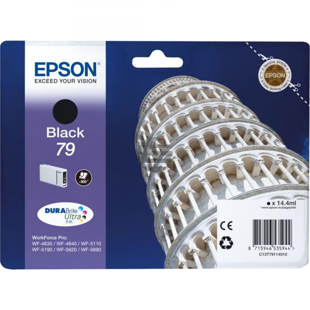 Epson Tintenpatrone schwarz (C13T79114010, T7911)