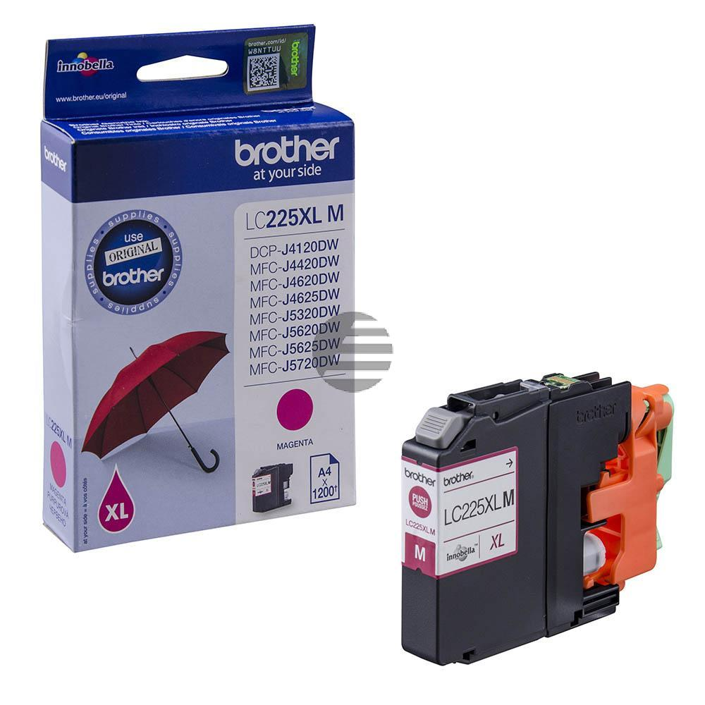 Brother Tinte Magenta HC (LC-225XLM)