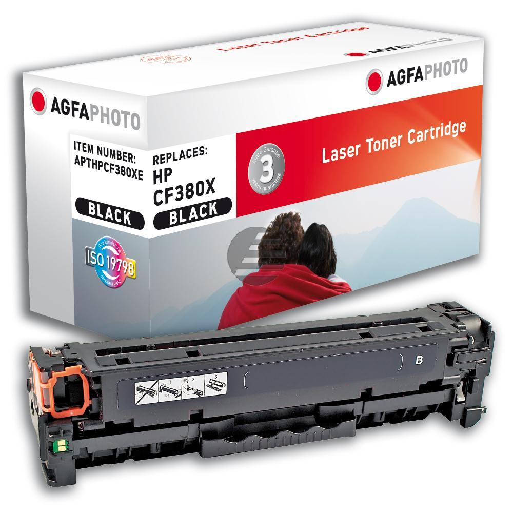 Agfaphoto Toner-Kartusche schwarz (APTHPCF380XE)