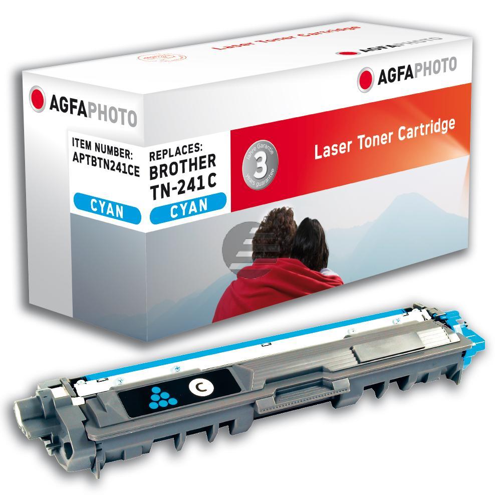 Agfaphoto Toner-Kit cyan (APTBTN241CE) ersetzt TN-241C
