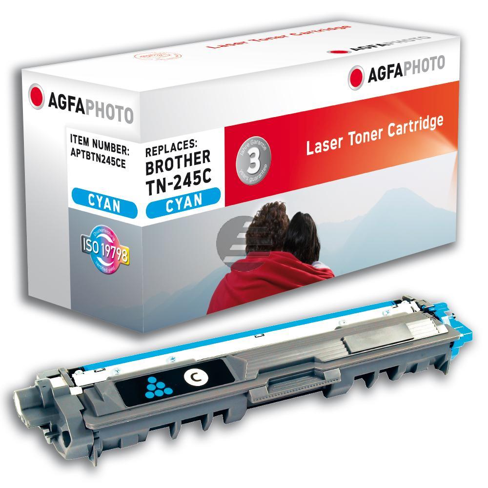 Agfaphoto Toner-Kit cyan HC (APTBTN245CE)