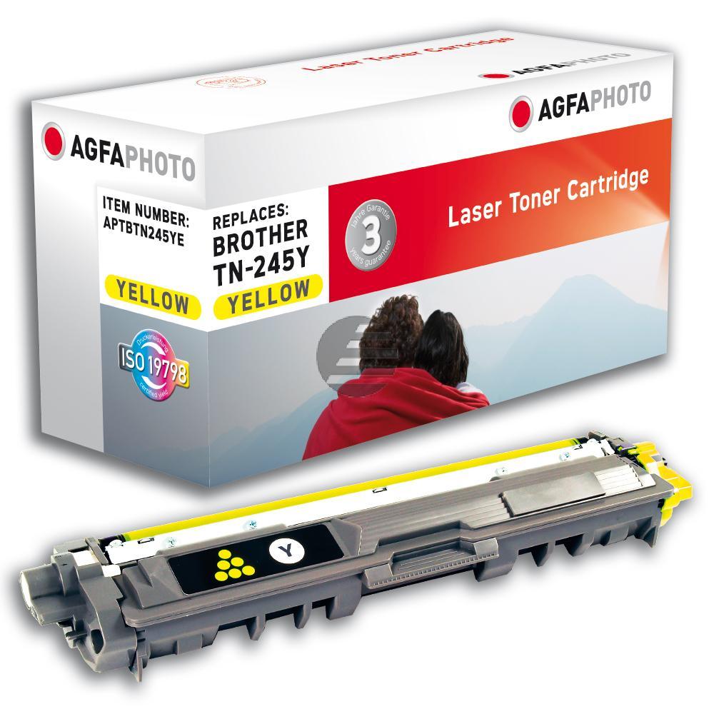 Agfaphoto Toner-Kit gelb HC (APTBTN245YE) ersetzt TN-245Y