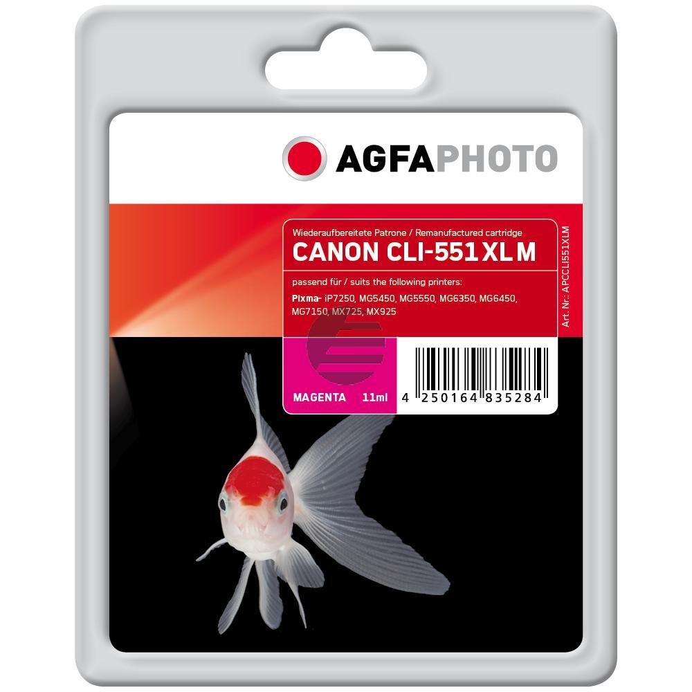 Agfaphoto Tinte Magenta (APCCLI551XLM)