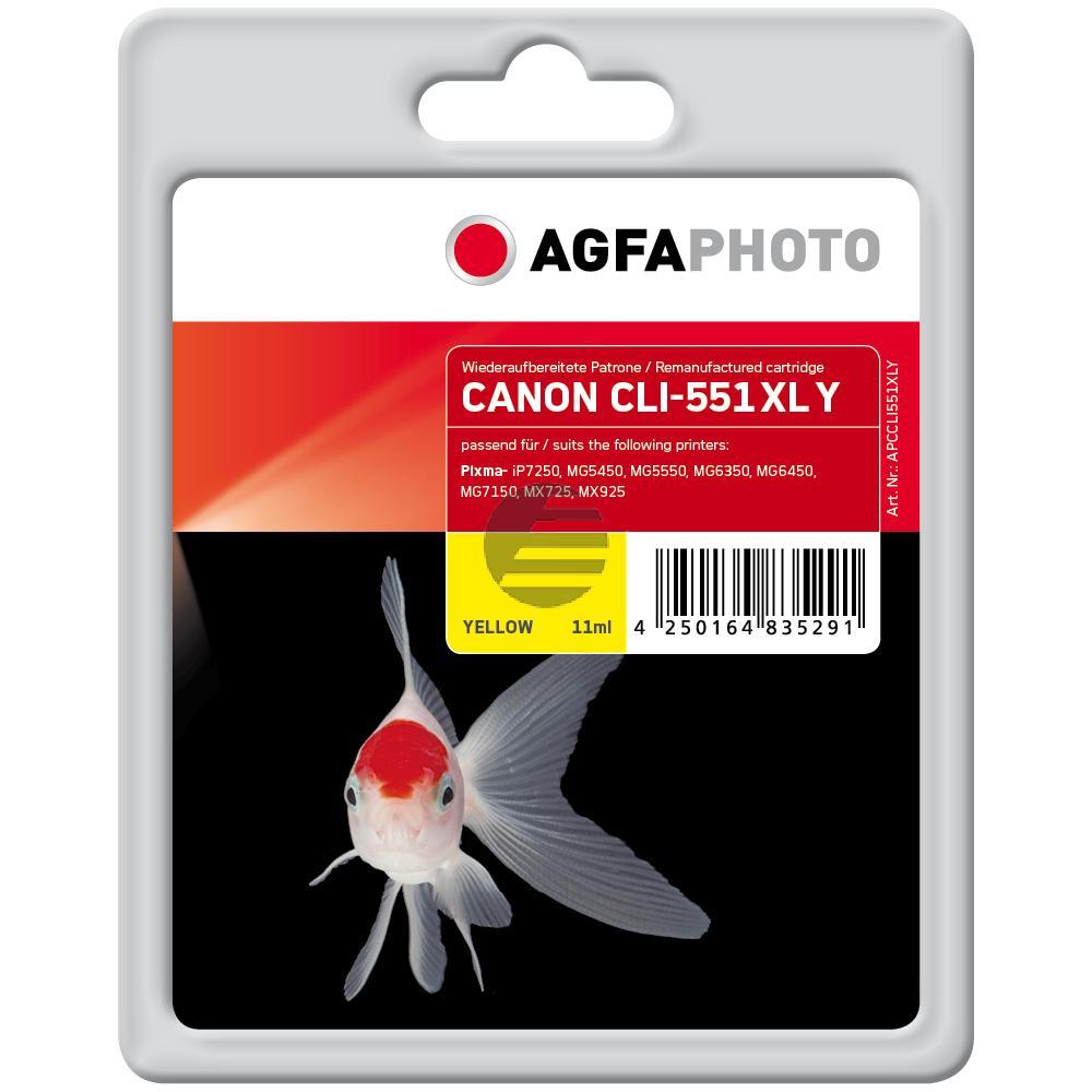 Agfaphoto Tinte gelb (APCCLI551XLY)