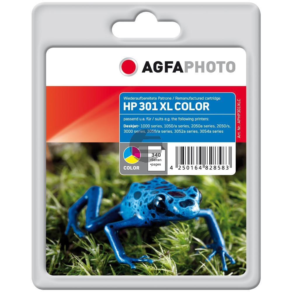 Agfaphoto Tintenpatrone cyan/gelb/magenta (APHP301XLC)