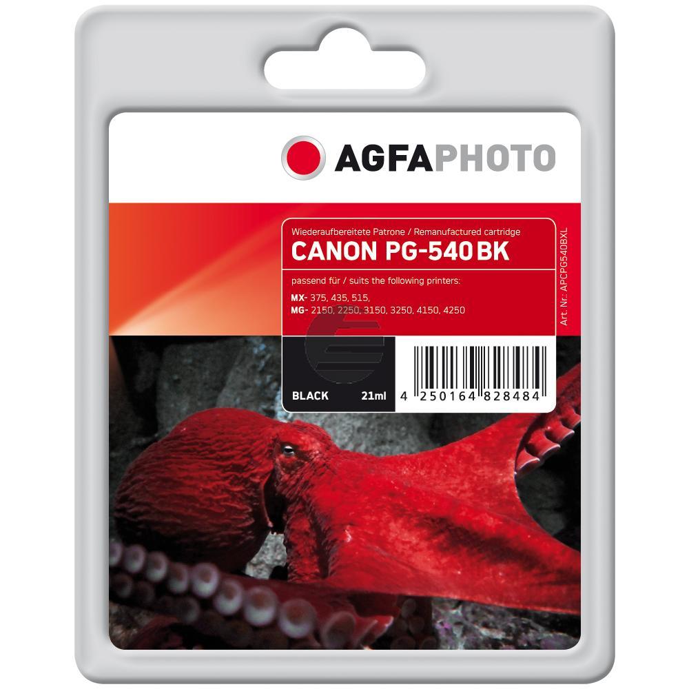 Agfaphoto Tintenpatrone schwarz (APCPG540BXL)