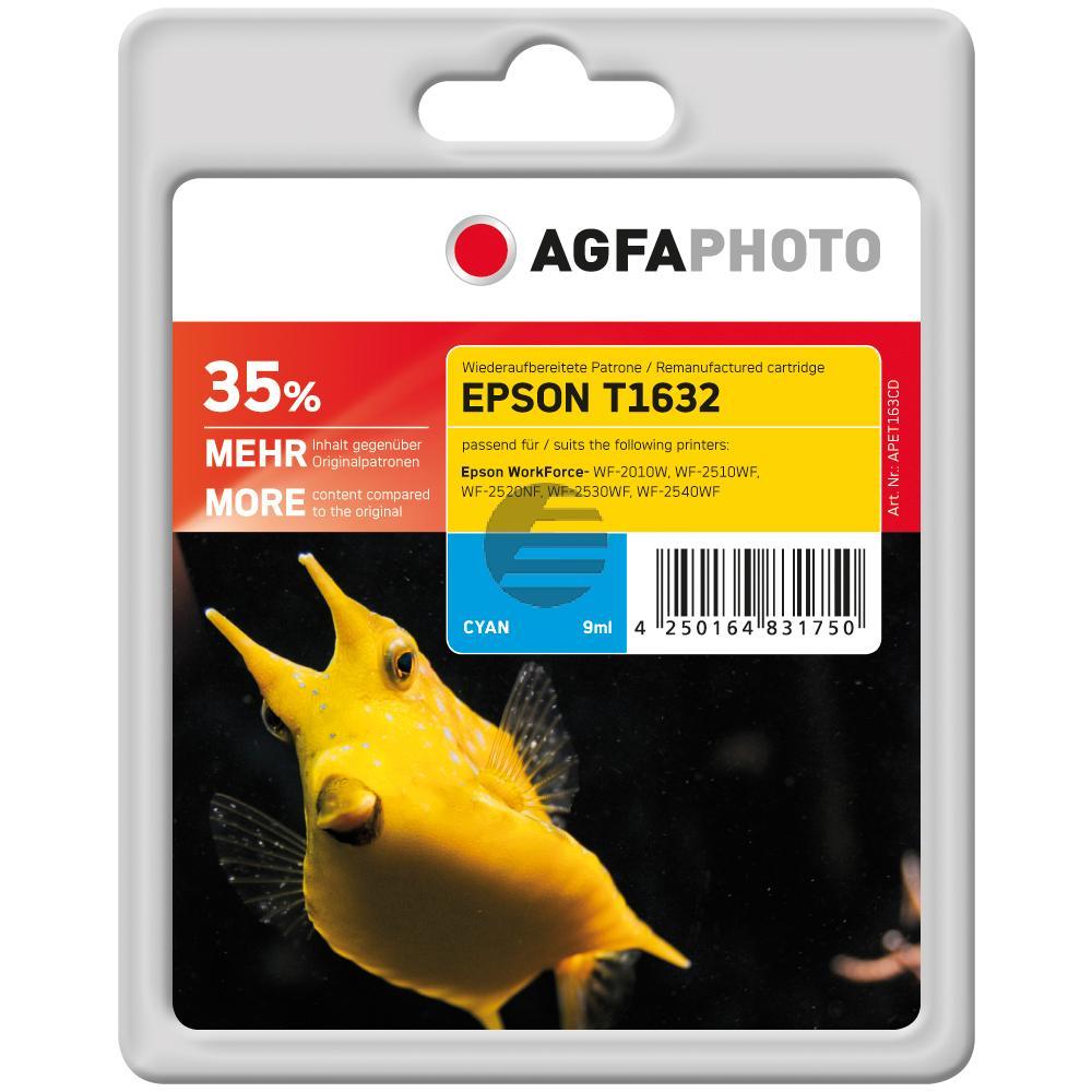 Agfaphoto Tinte Cyan HC (APET163CD)