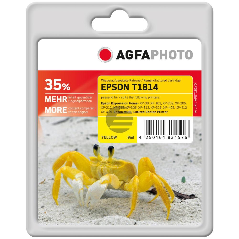 Agfaphoto Tinte gelb HC (APET181YD)