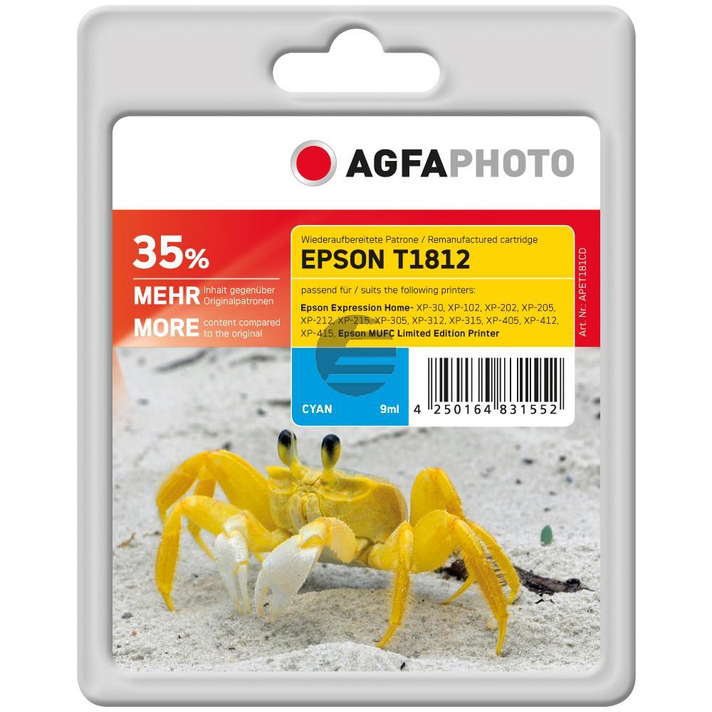 Agfaphoto Tinte Cyan HC (APET181CD)