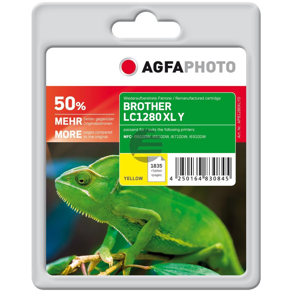 Agfaphoto Tinte gelb (APB1280XLYD)