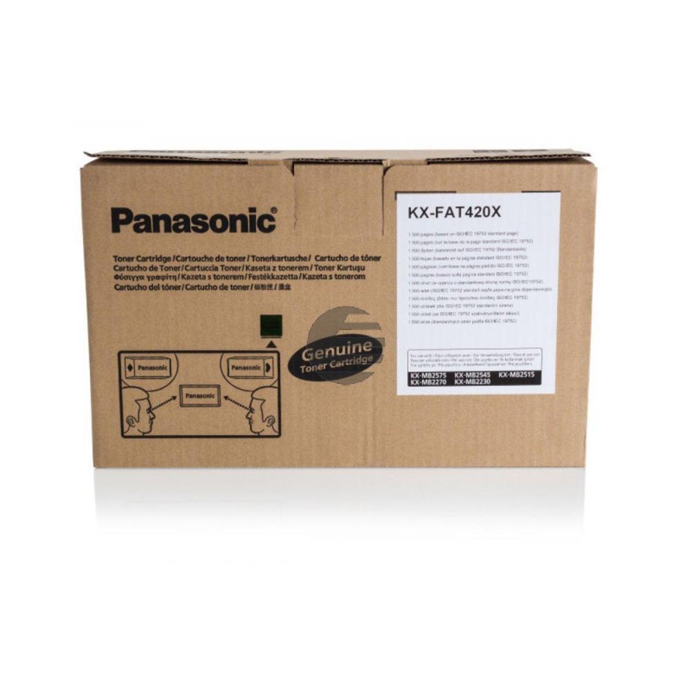 Panasonic Toner-Kit schwarz (KX-FAT420X)