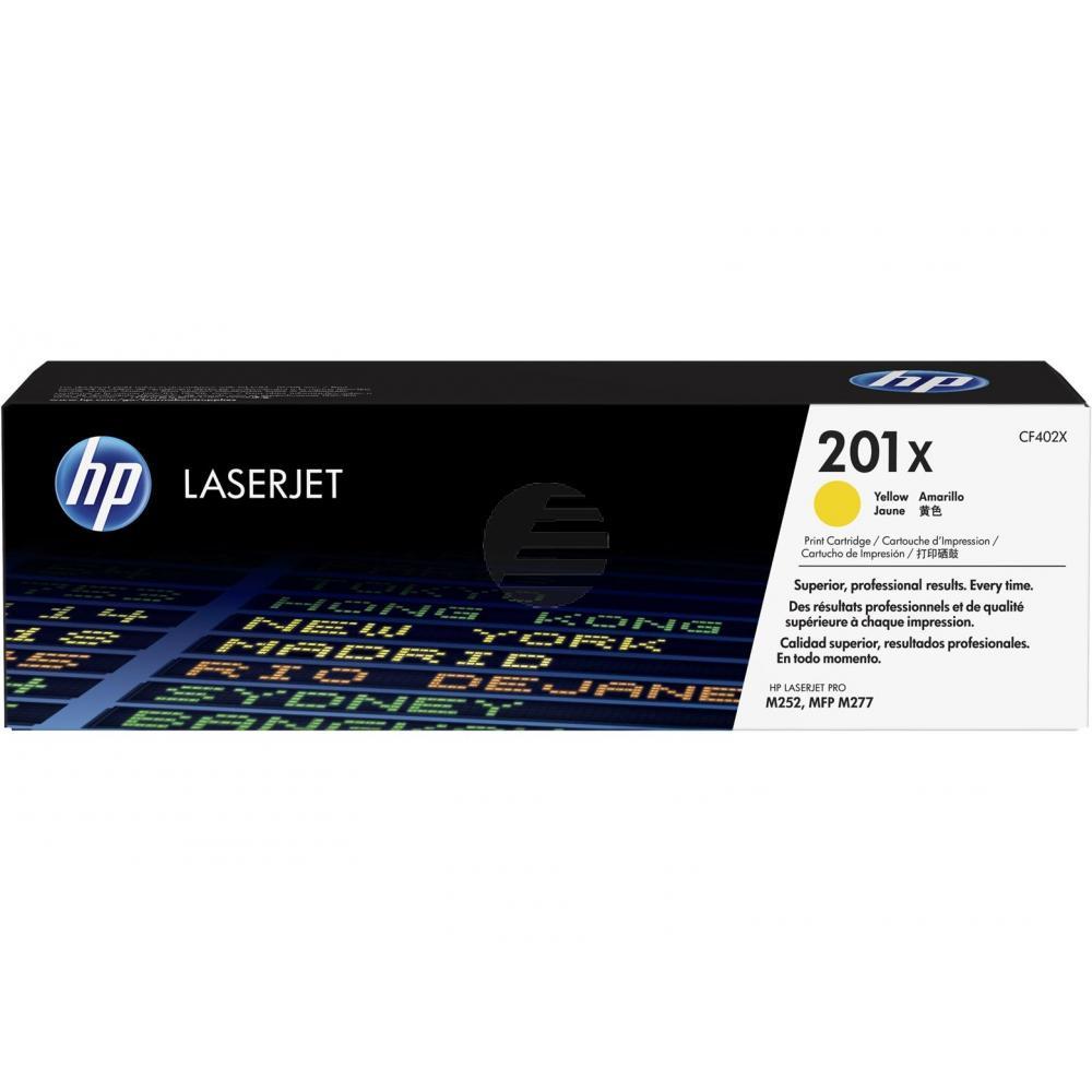 HP Toner-Kartusche JetIntelligence gelb HC (CF402X, 201X)