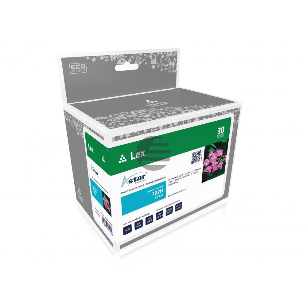 Astar Toner-Kit cyan (AS14410) ersetzt 70C0H20 / 700H2