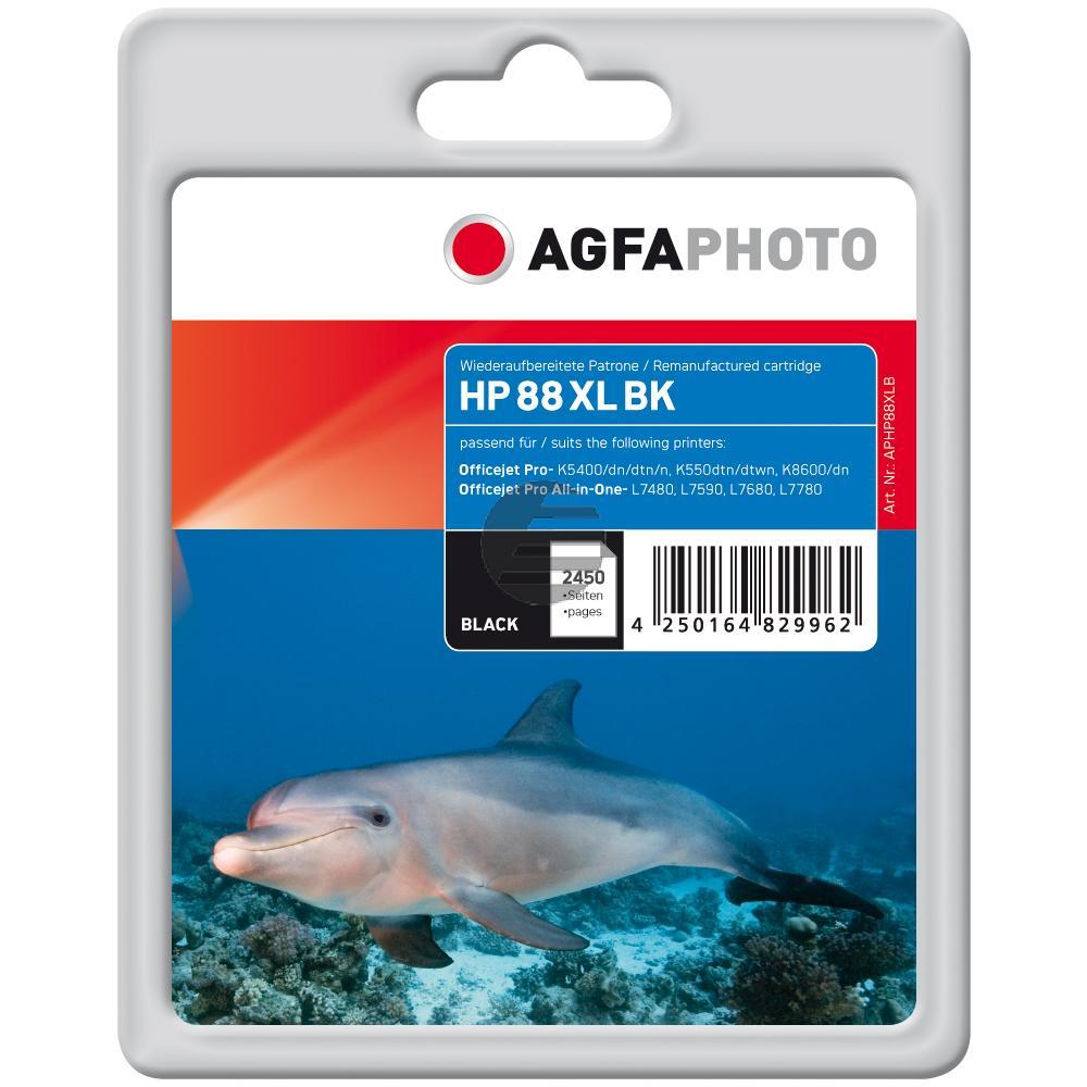 Agfaphoto Tintenpatrone schwarz (APHP88XLB)