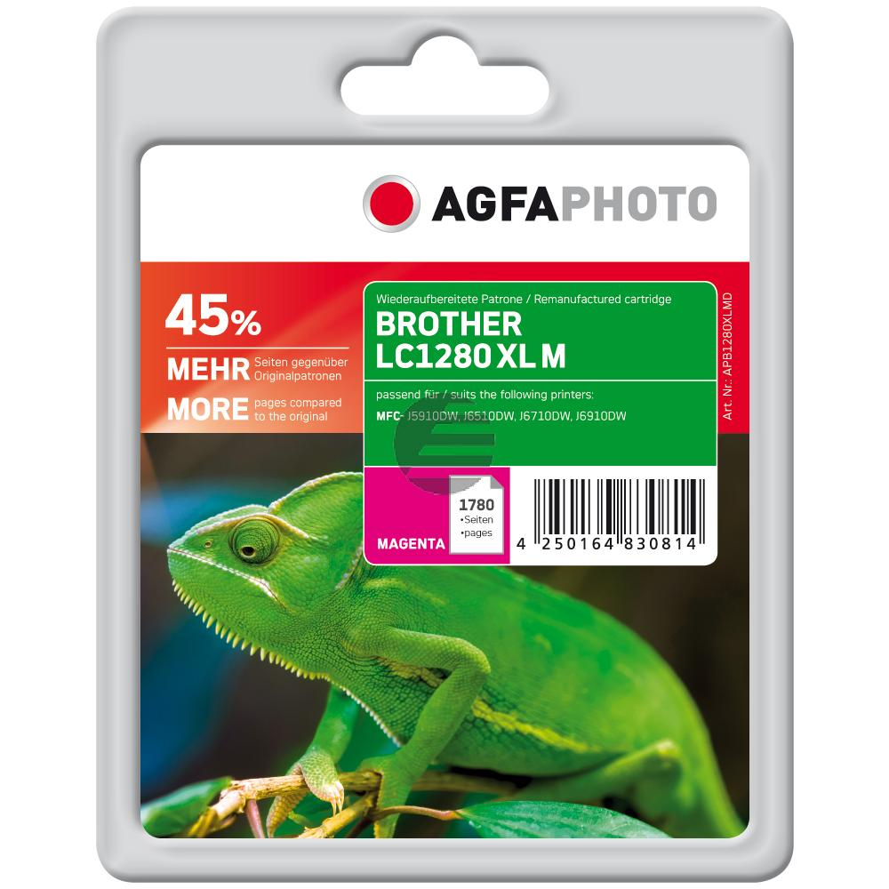 Agfaphoto Tinte Magenta (APB1280XLMD)