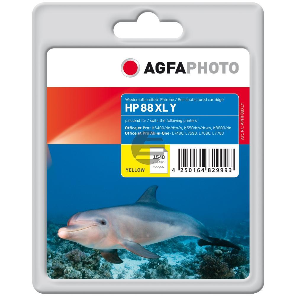 Agfaphoto Tintenpatrone gelb (APHP88XLY)